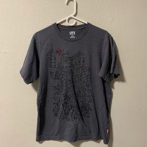 Uniglo Jason Poland Spider-Man t shirt